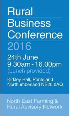 Rural Business Conference 2016 - 24th June